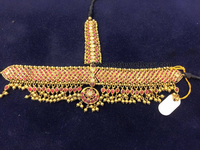 Maang Tikka Temple Jewellery