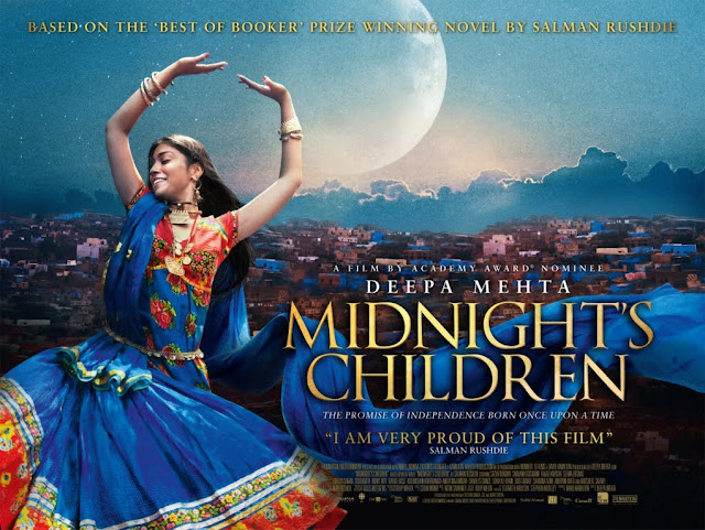 Midnight's Children, Salman Rushdie, Poster