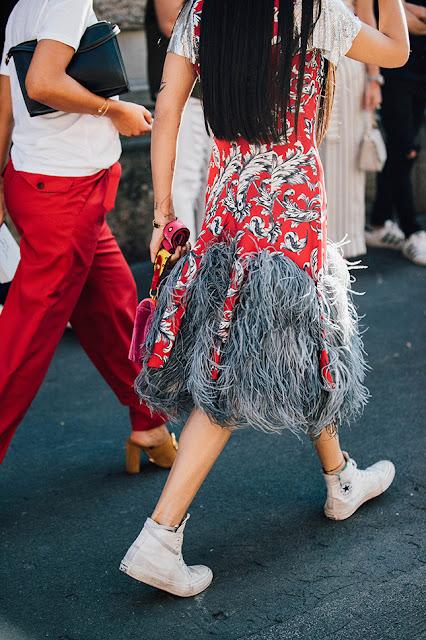 MFW Menswear SS18 Street Style