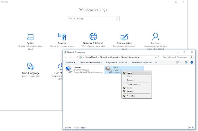 Cara Menyalakan dan Mematikan Wi-Fi di Windows 10