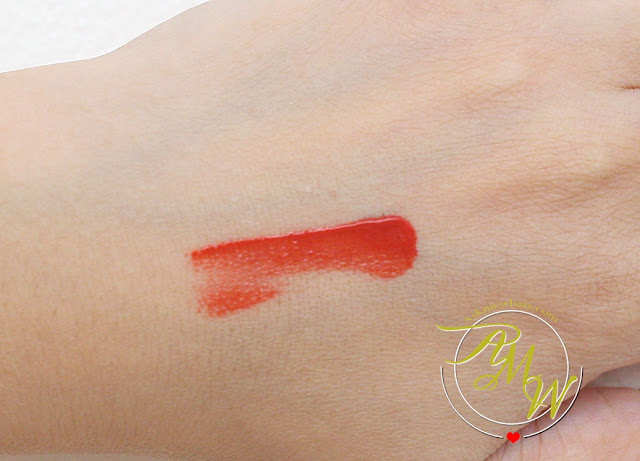 a swatch photo of Tony Moly LipTone Get it Tint in 07 Oh My Rose