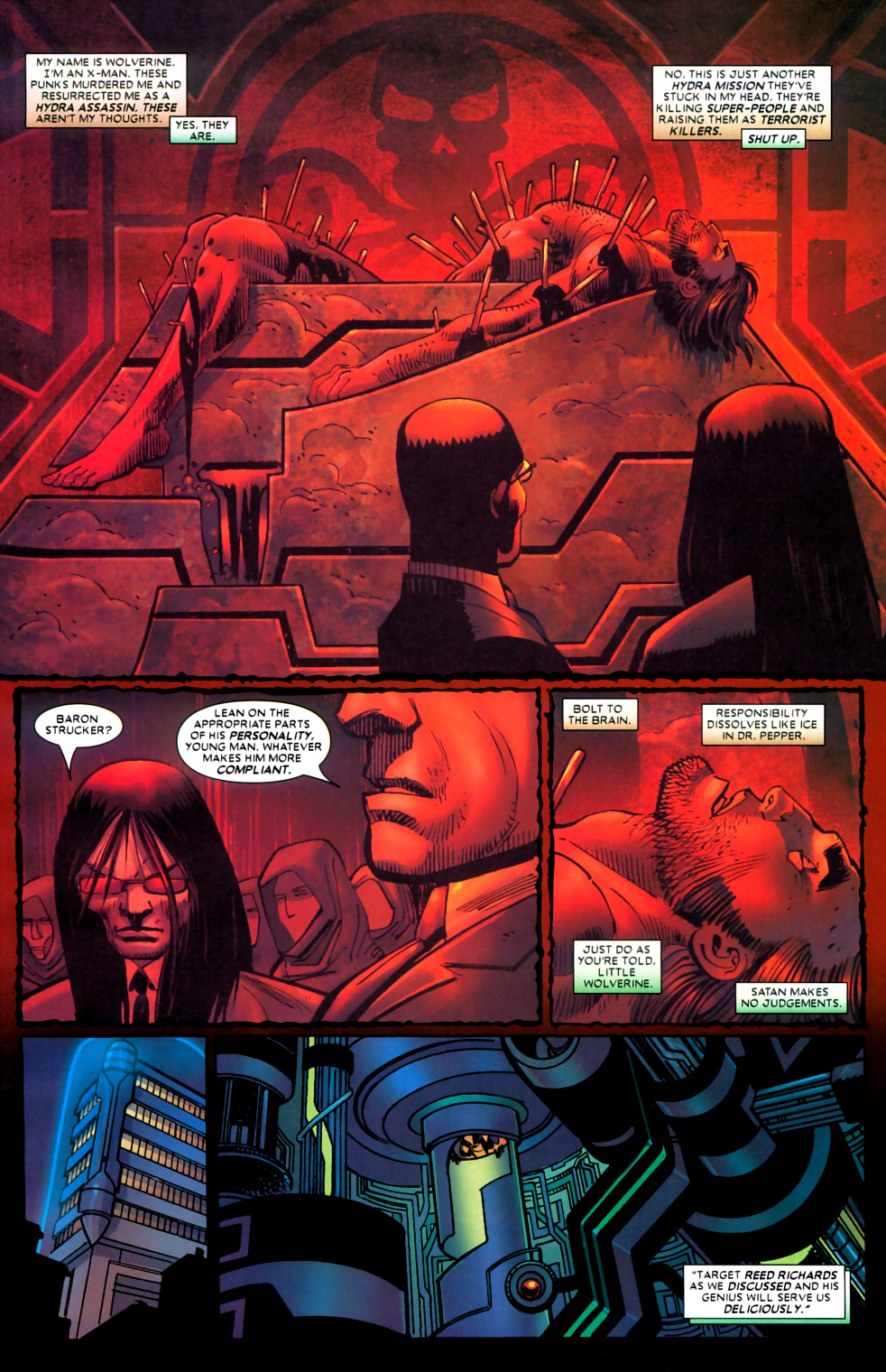 Read online Wolverine (2003) comic -  Issue #22 - 5