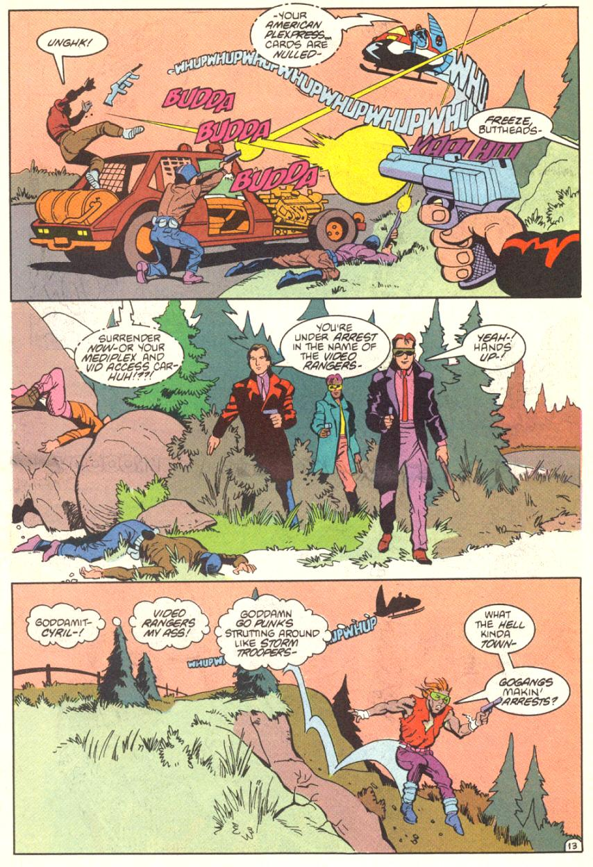 Read online American Flagg! comic -  Issue #13 - 14