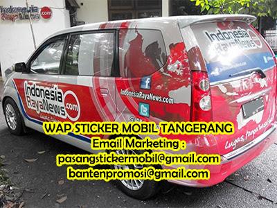 Pasang Stiker Mobil Jakarta March 2017