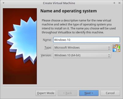 3 - Cara Install Windows 10 Di Virtualbox