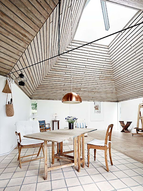 salle à manger scandinave danemark