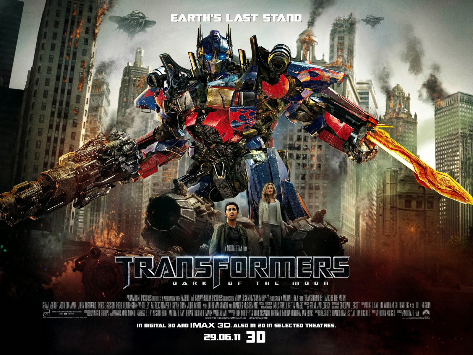 Download Transformers 3: Dark of the Moon (2011) BluRay 720p