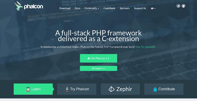 framework php terbaik phalcon