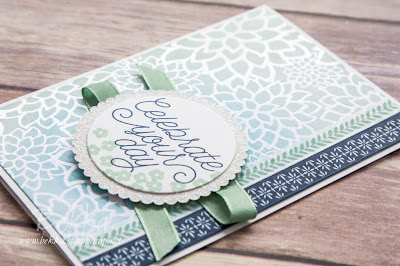 Celebrate Your Day with Irresistibly Floral Papers from Stampin' Up! UK.  Buy Stampin' Up! UK here