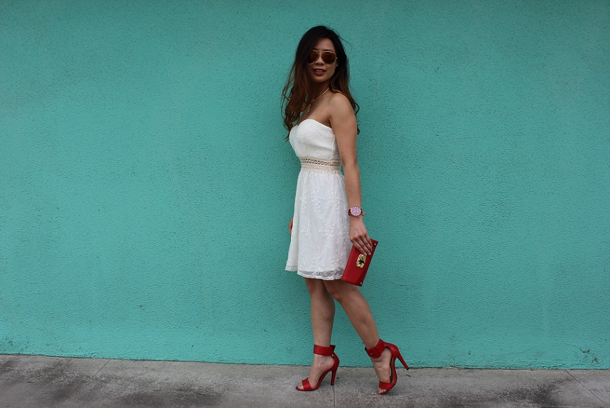 25da17a96020 According To Kimberly... // An Orange County Life + Style Blog : Little  White Dress