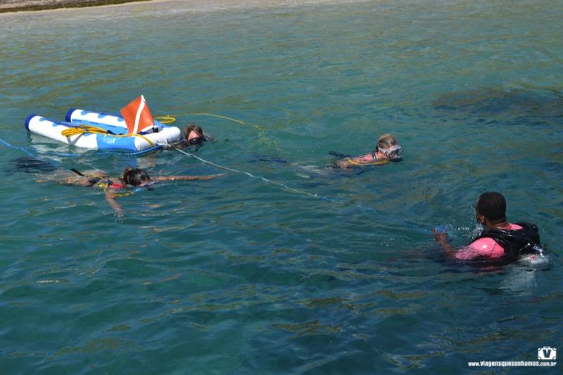 Cruzeiro em St Kitts no Caribe