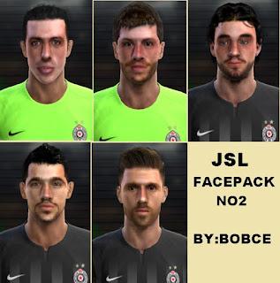 Facepack Partizan de Belgrado Pes 2013 By Bobce