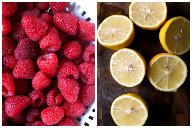 Raspberry Lemonade Sorbet | thetwobiteclub.com