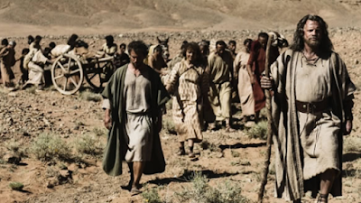 Israel partindo para Canaã