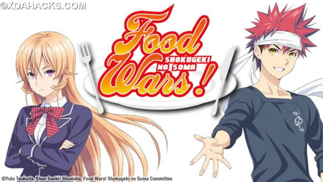 Food War Anime Download