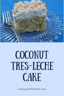 Coconut Tres-Leche Cake