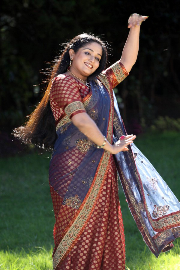 Kavya Madhavan Hot Spicy In Saree Photos