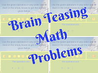 Easy but Brain-teasing Math Problems