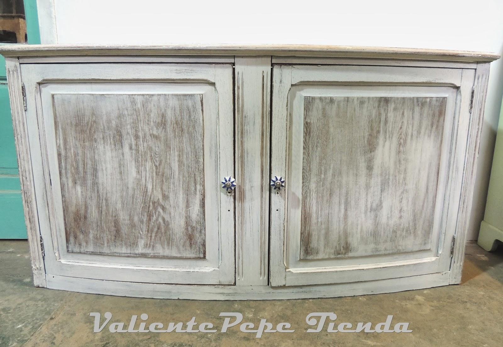 Puertas Decapadas Blanco Roto Pintar Las Puertas Del Armario With  # Muebles Patinados En Blanco