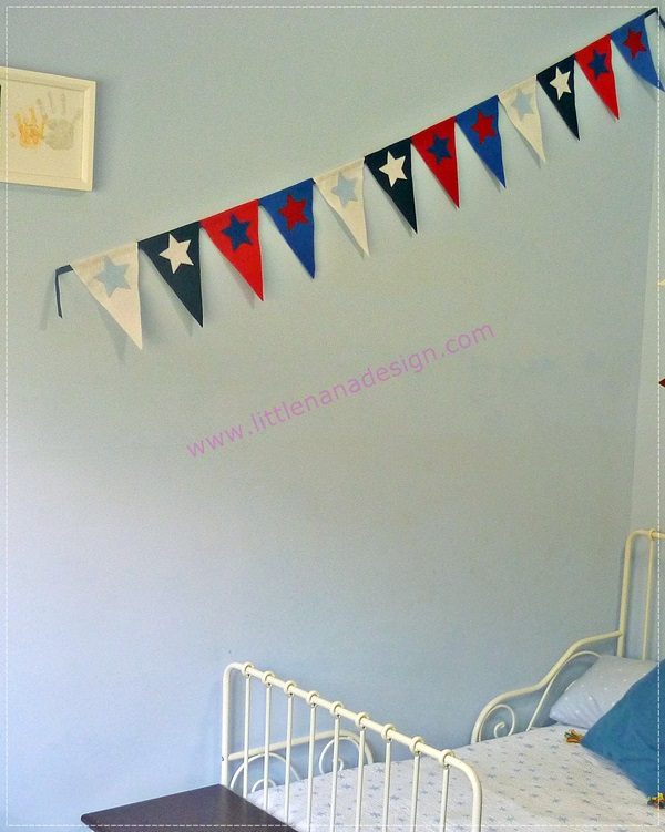 decoracion banderines craft diy