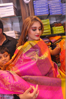 Surabhi looks stunning in Saree at Nakshatra Fashion Store Launch at Suchitra X Road 28.JPG