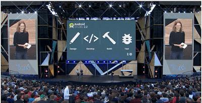 O merupakan konferensi tahunan yang diselenggarakan oleh Google untuk memperkenalkan tekno Apa yang Baru di Android Studio ? di Event Google I/O 2016