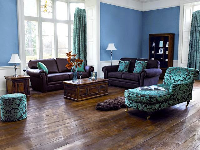 blue painted living room ideas creative wall painting ideas for living room 20347