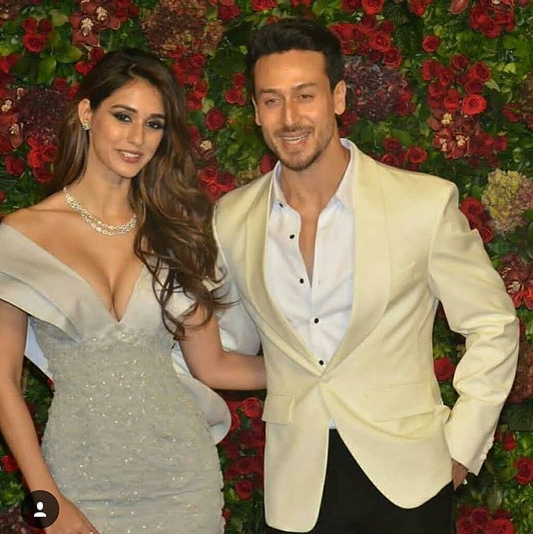 Tiger Shroff and Disha Patani Looks Cute Together