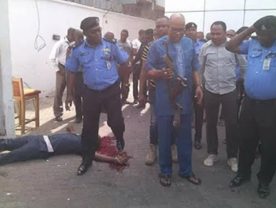 d - Video: Robbery attack at Zenith Bank Owerri that killed one