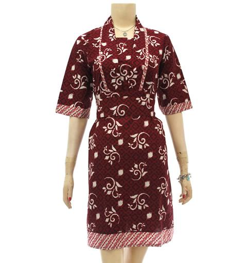 Model Baju Batik Modern Untuk Kerja Wanita: Model Baju Resmi Wanita Model Baju Batik Modern