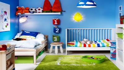 Desain kamar tidur anak laki-laki
