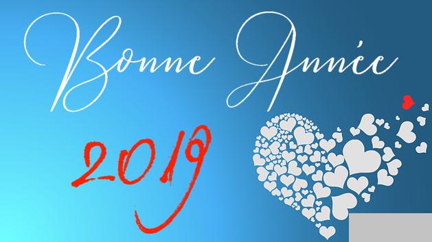 Bonne année 2019 message damour