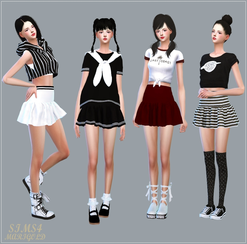 My Sims 4 Blog Clothing For Females By Marigold