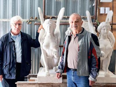 Οι σωτήρες των πληγωμένων αγαλμάτων