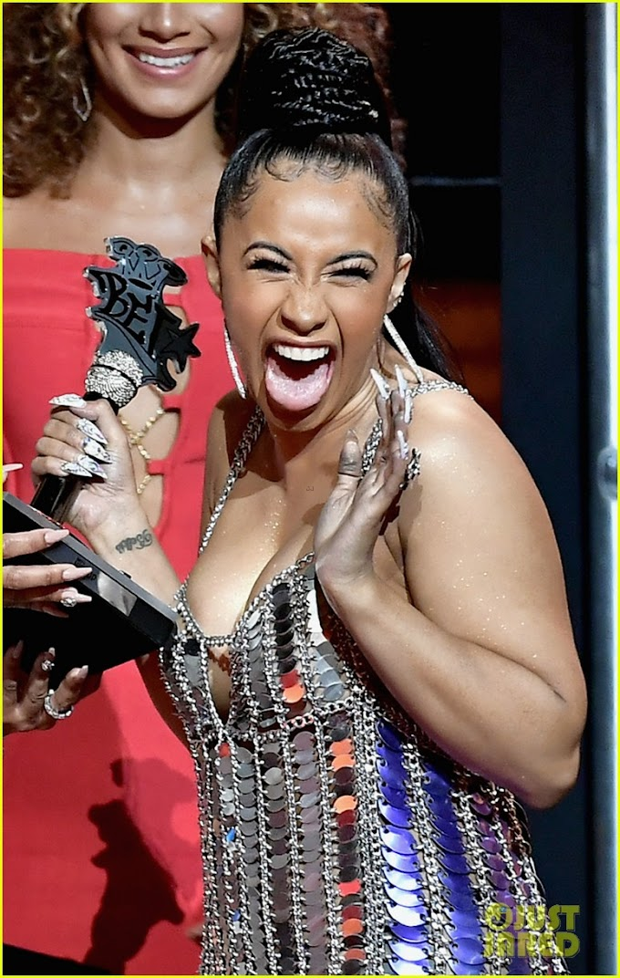 Cardi B Wins Big at the BET Hip Hop Awards in Miami!