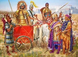 riassunto sulla civiltà micenea: la nobiltà dei guerrieri
