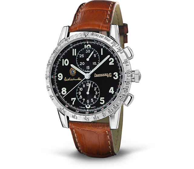Eberhard & Co. celebrates Father's Day with unique Tazio Nuvolari timepiece