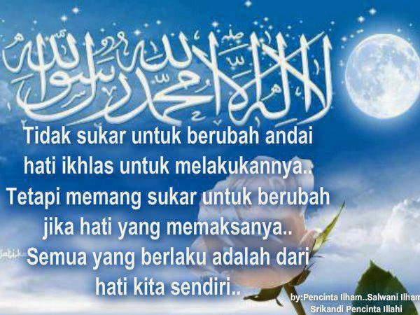 Kata Mutiara Islami Motivasi Indah Bijak