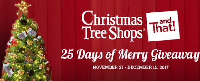 Christmas Tree Shops andThat 25 Days of Merry Giveaway