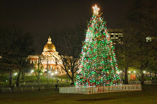 Boston Common Holiday Lighting