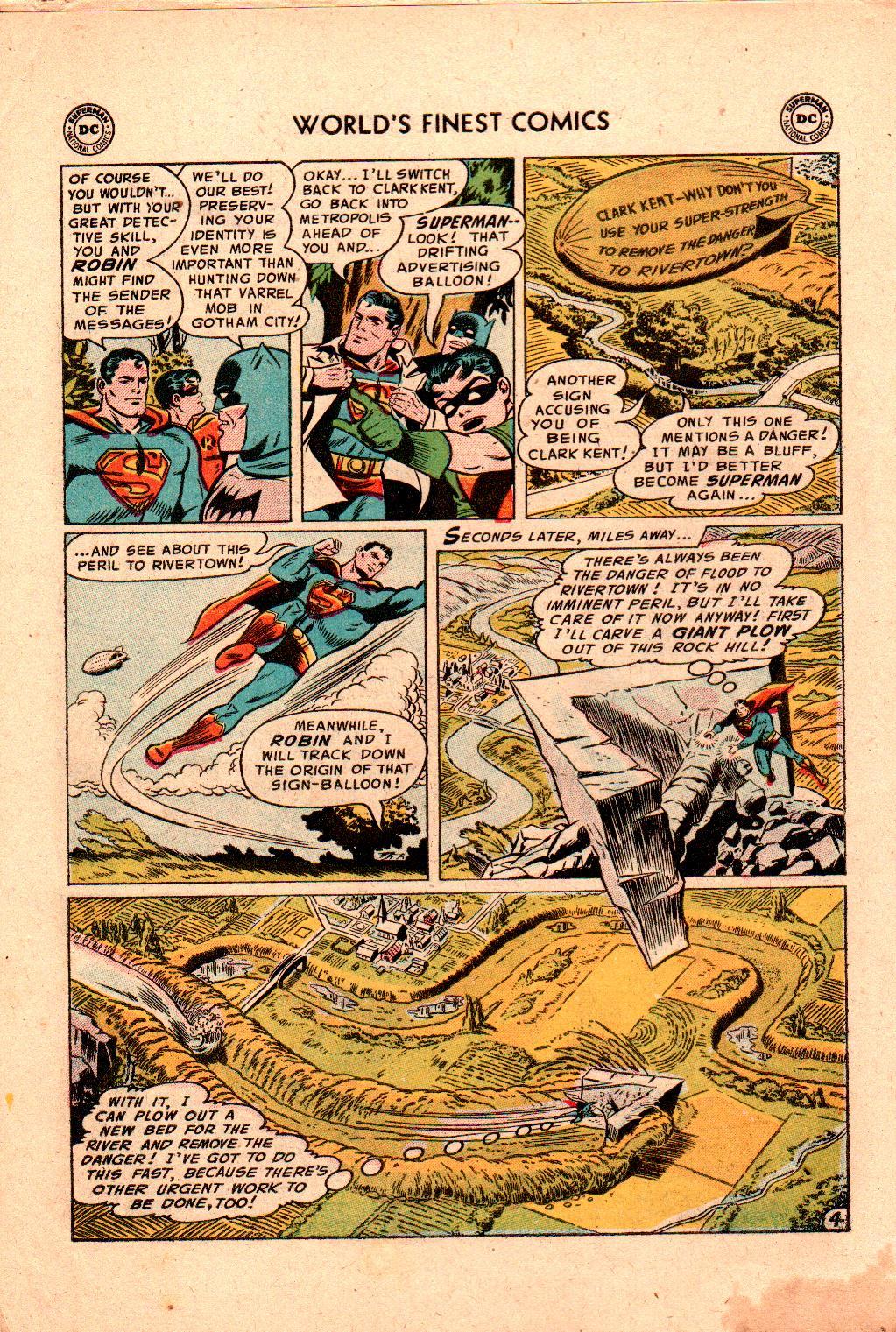 Read online World's Finest Comics comic -  Issue #78 - 6