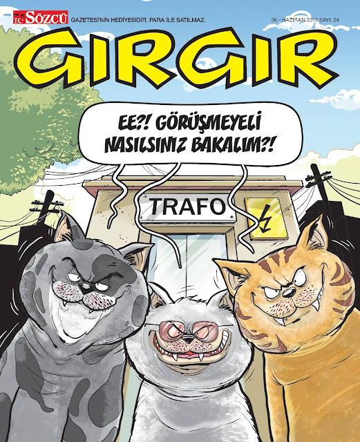 gırgır dergisi 6 haziran 2015 kapak
