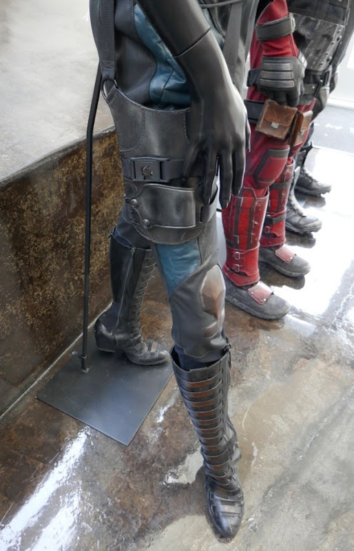 Deadpool 2 Domino costume legs