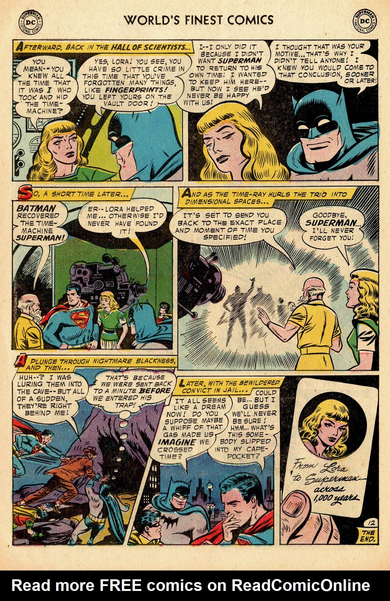 Read online World's Finest Comics comic -  Issue #91 - 14