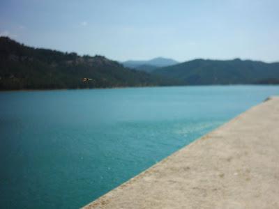 Pantano ,embalse, Pena ,Beceite ,frontera ,Valderrobres, aguas 2