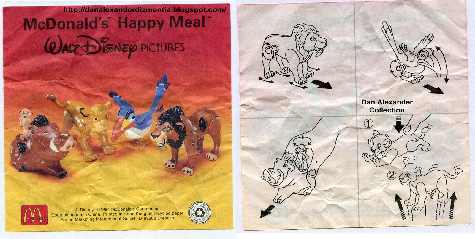 Disney S The Lion King At Burger King Mcdonald S And Kfc