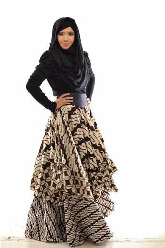 Trend Baju Muslim Pesta Simple Elegan Modern Terbaru 2015 bf3adba067