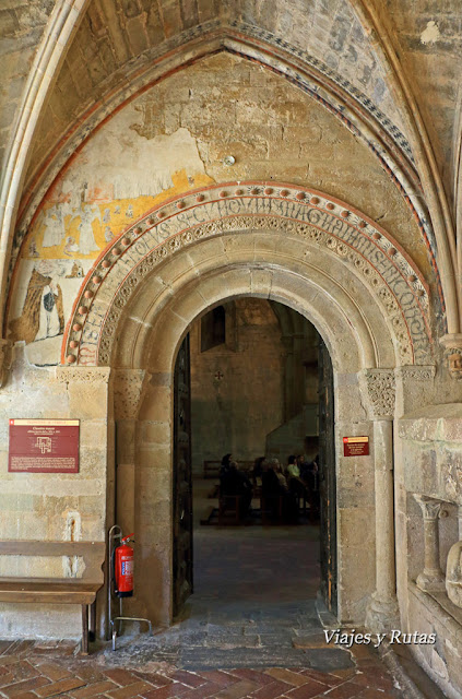 Puerta de los Monjes, Monasterio de Veruela