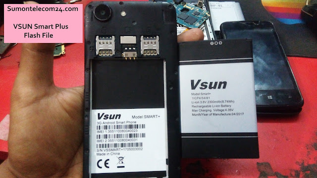 Vsun Smart Plus Flash File download | MT6580 Stock Firmware File