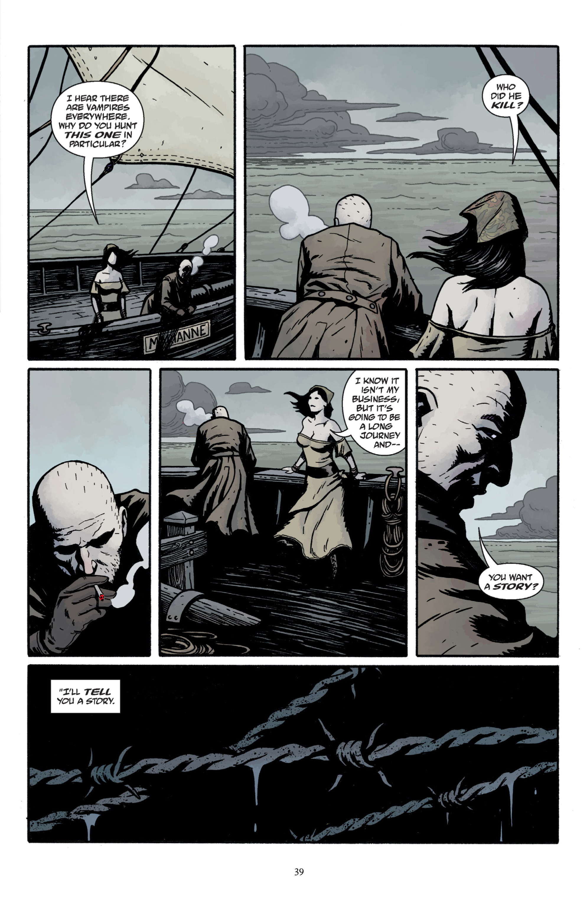 Read online Baltimore: The Plague Ships comic -  Issue # TPB - 41